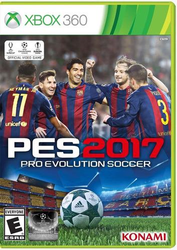 juego pro evolution soccer pes xbox 360