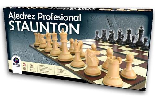 juego profesional staunton impresionante!!