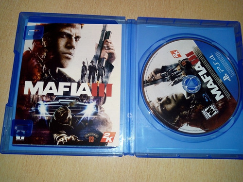 juego ps 4 mafia iii !!!!!
