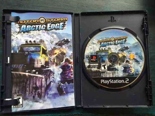 juego ps2 motor storm arctic edge original, perfecto estado!