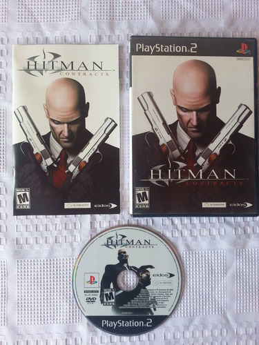 juego ps2 playstation 2, hitman contracts completo