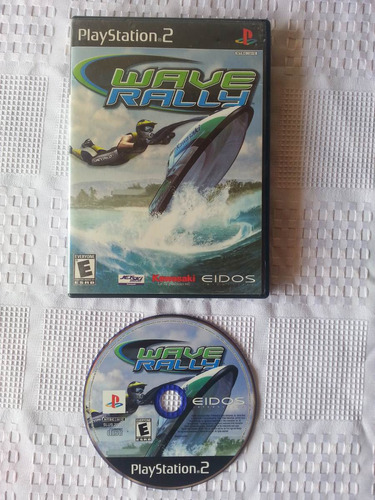 juego ps2 playstation 2, wave rally
