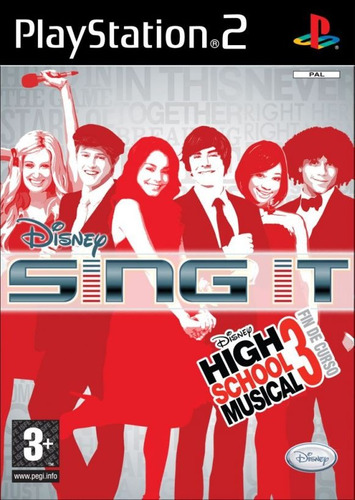 juego ps2 sing it high school musical 3 - refurbished fisico