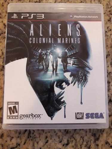 juego ps3 aliens colonial marines