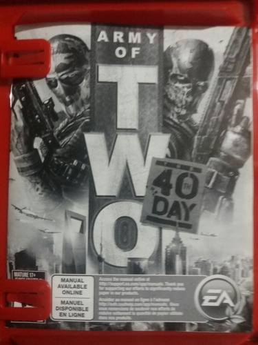 juego ps3 army of two