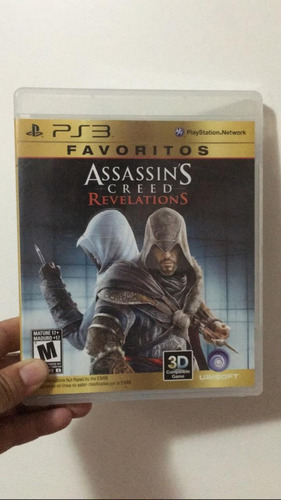 juego ps3  assassins  creed revelations original fisico