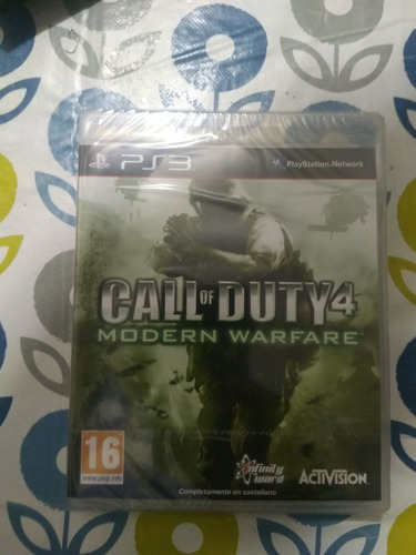 juego ps3 call of duty modern warfare