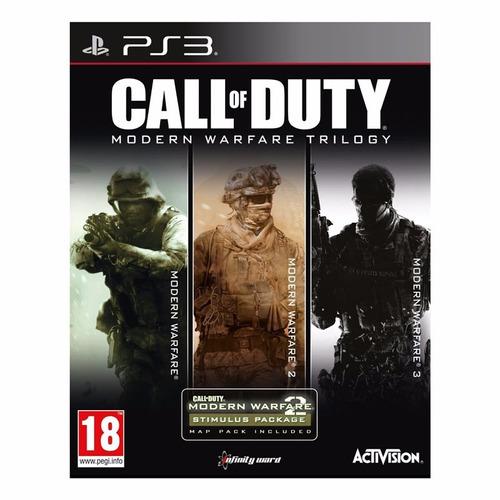 juego ps3: call of duty: modern warfare trilogy