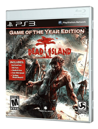 juego ps3 dead island - game of the year edition ps3