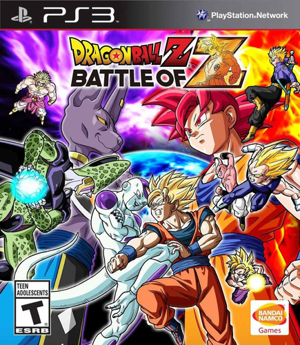 juego ps3 dragon ball battle of z - refurbished fisico