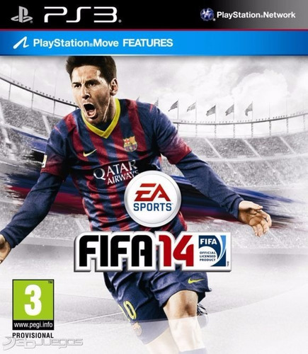juego ps3 fifa 14 - refurbished fisico