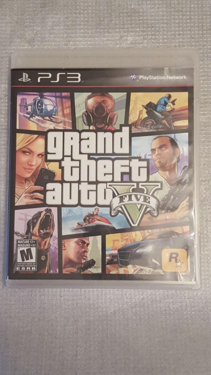 Juego Ps3 Grand Theft Auto V Five Original Fisico Gta V 5 950
