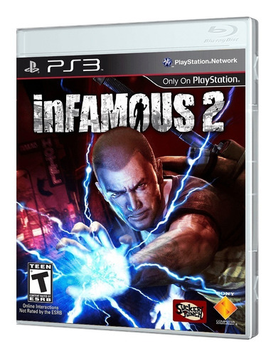 juego ps3 infamous 2 ps3