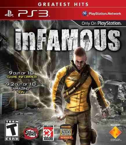 juego ps3 infamous