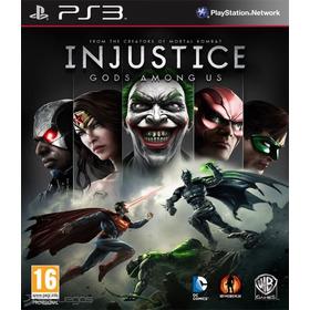 Juego Ps3 Injustice ( No Cd)