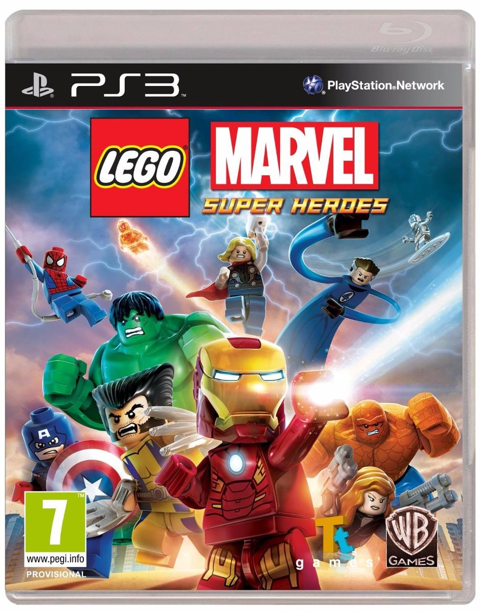 Juego Ps3 Lego Marvel Superheroes Fisicos Sellados 862 30 En