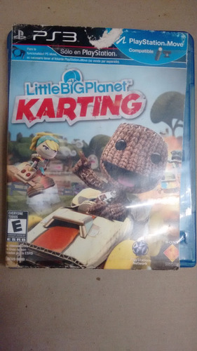 juego ps3 little big planet kartin play station3 video games