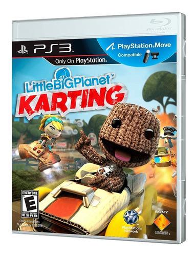 juego ps3 littlebigplanet karting ps3