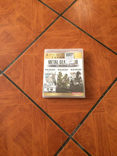 juego ps3 metal gear solid hd collection
