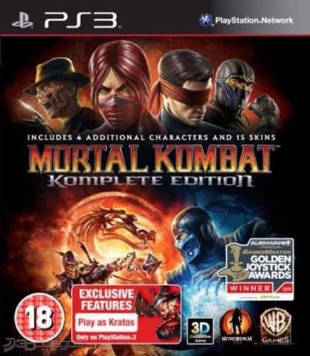 juego ps3 - mortal kombat komplete edition