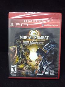 Juego Ps3 Mortal Kombat Vs Dc Universe