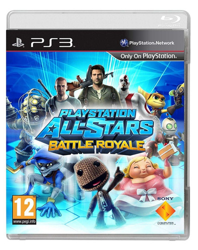 juego ps3 - playstation all-stars battle royale - 9.9/10 neo