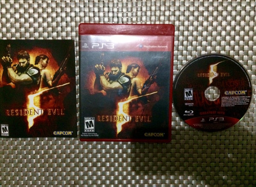 juego ps3 resident evil 5