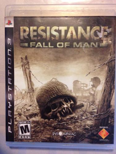 juego ps3 resistance fall man