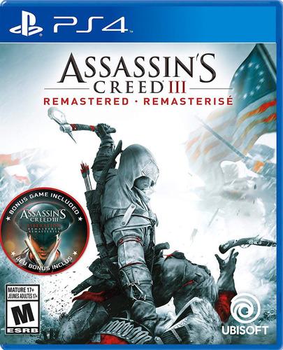juego ps4 assassin's creed 3 remastered - original fisico