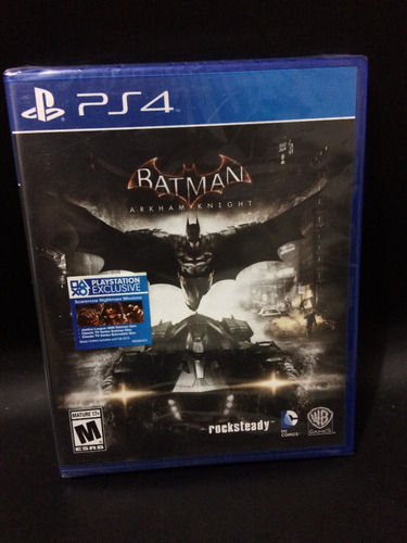 juego ps4 batman arkham knight