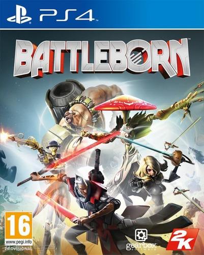 juego ps4 battleborn disco fisico caja original notredame