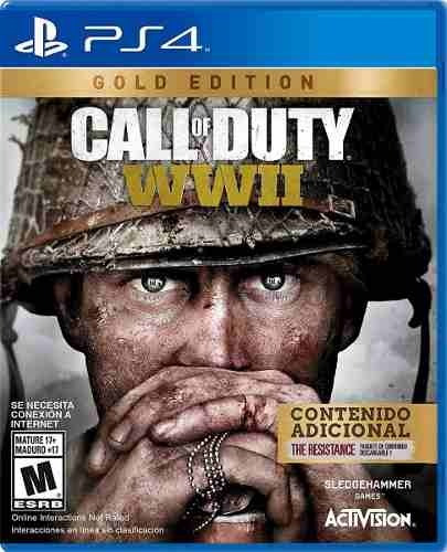 juego ps4 call of duty wwii gold edition (latam)