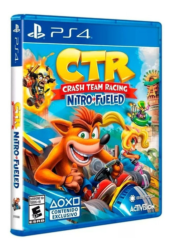 juego ps4 ctr crash team racing nitro fueled (latam)
