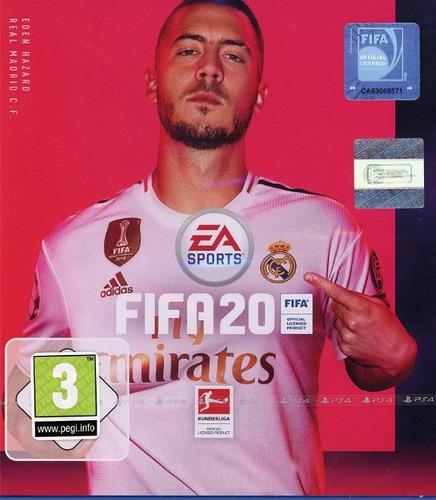juego ps4 digital fifa 20 + plus obsequio (cta principal)