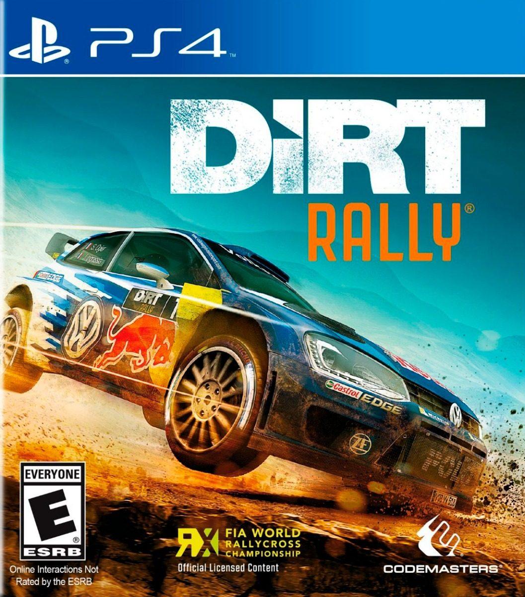 Juego Ps4 Dirt Rally Fisico Sellado Envio Gratis 2 693 46 En