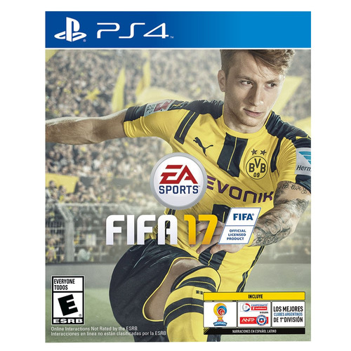 juego ps4 ea sports fifa 2017