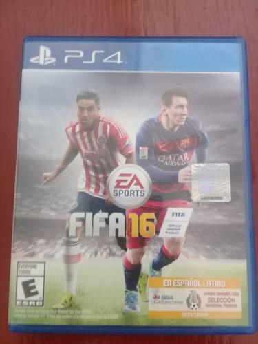 juego ps4 fifa 2016 conservado.
