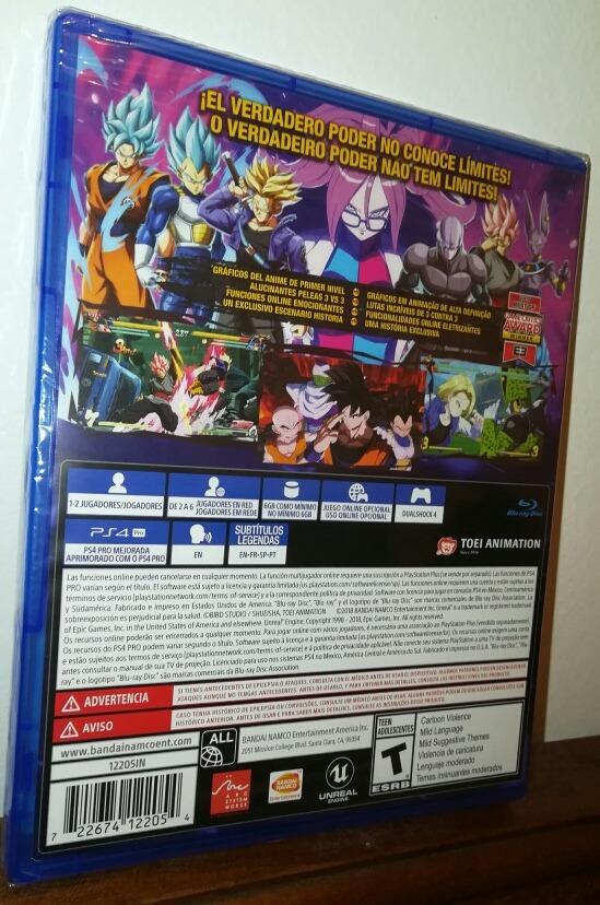 Juego Ps4 Fisico Dragon Ball Fighter Z Envio Gratis 2 299 00