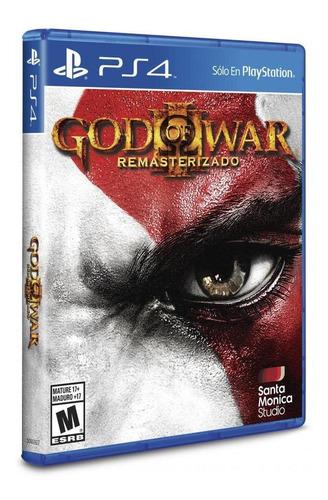 juego ps4 god of war 3 remastered