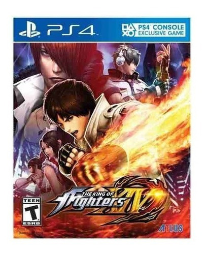 juego ps4 king of fighters xiv