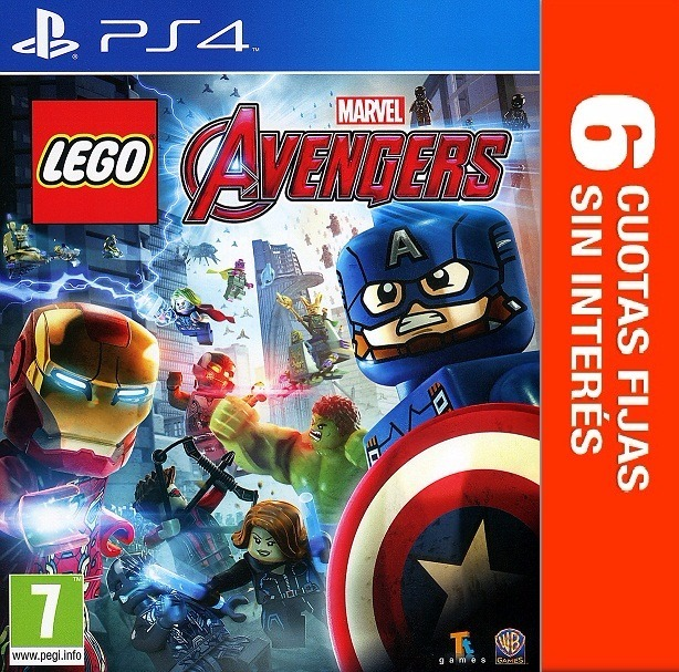 Juego Ps4 Lego Marvel Avengers 6 Cuotas Sin Int 1 601 46 En