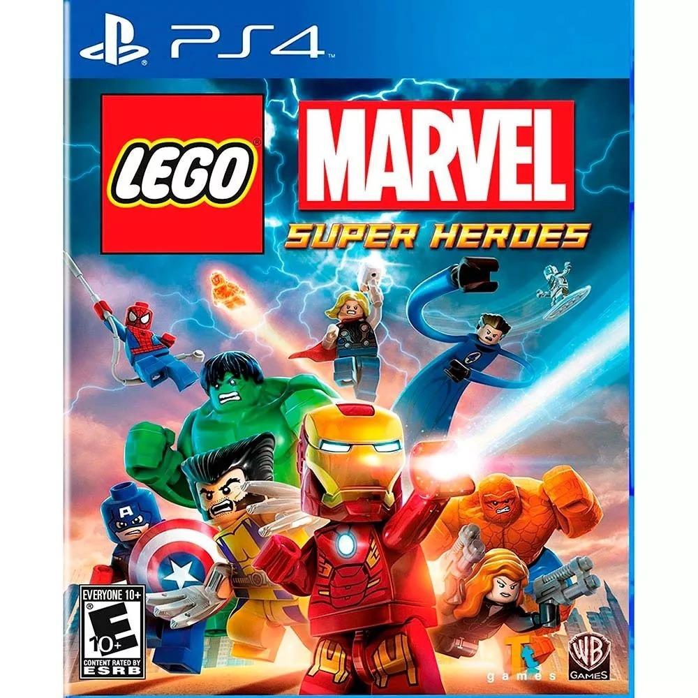 Juego Ps4 Lego Marvel Super Heroes Fisico 800 00 En