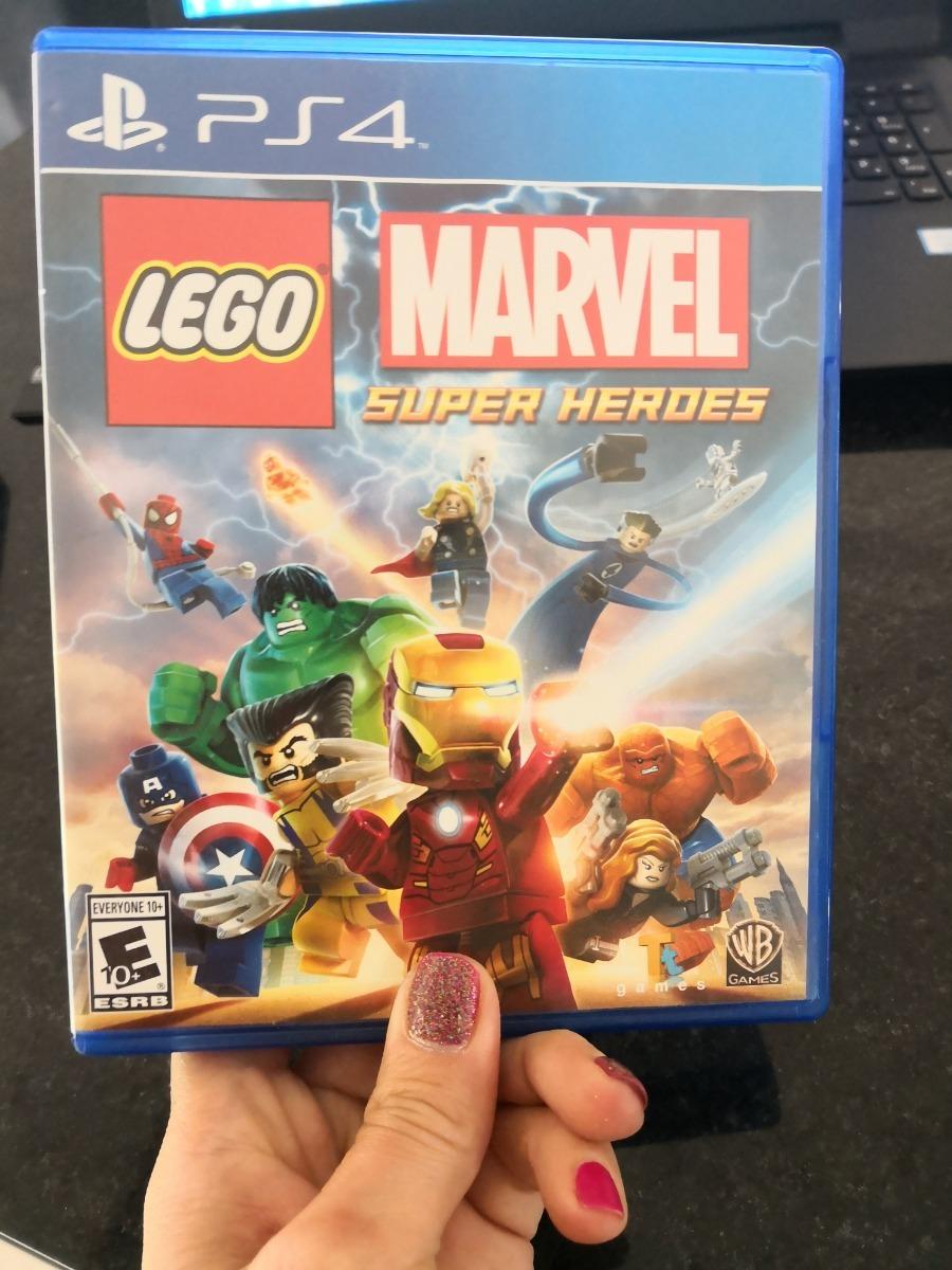 Juego Ps4 Lego Marvel Super Heroes Usado 650 00 En Mercado Libre