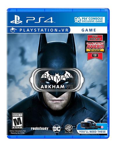 juego ps4 para psvr batman arkham vr