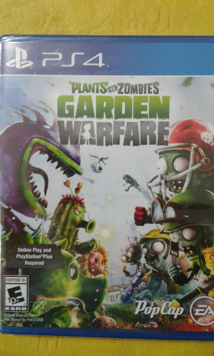 Juego Ps4 Plantas Vs Zombies Garden Warfare Fisico 1 199 00