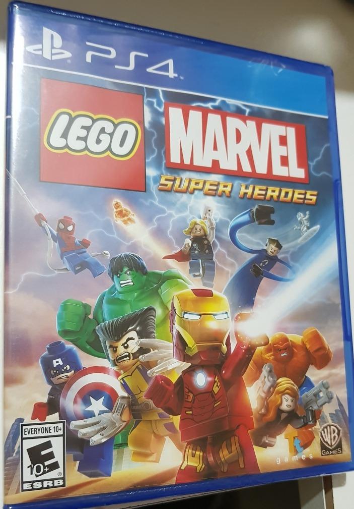 Juego Ps4 Playstation 4 Lego Marvel Super Heroes Nuevo Caja