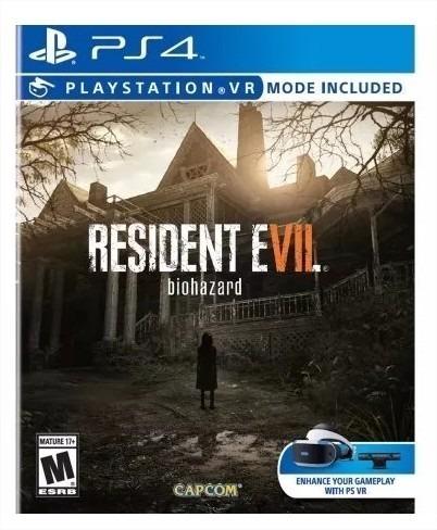 Juego Ps4 Ps Vr Resident Evil 7 Biohazard Dekor S 84 49 En