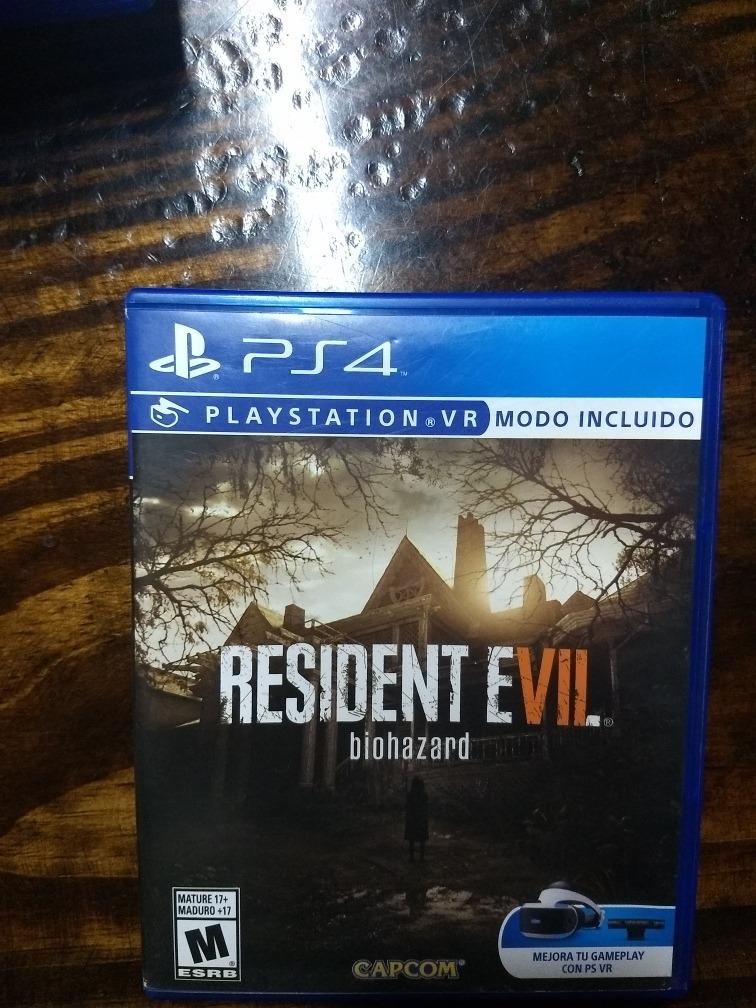 Juego Ps4 Resident Evil 7 Biohazard 1 500 00 En Mercado Libre