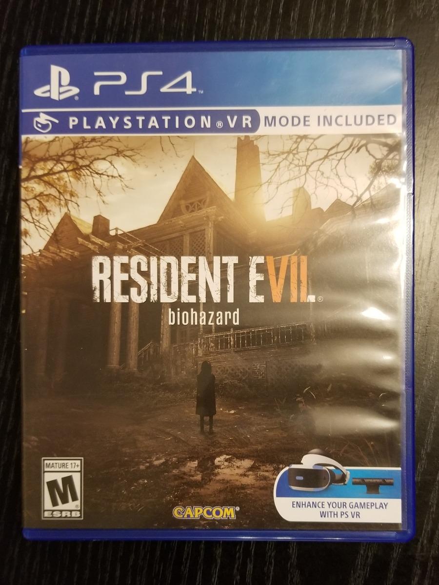 Juego Ps4 Resident Evil 7 Biohazard Disco Fisico 1 200 00 En