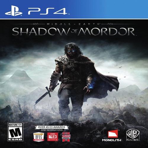juego ps4 shadow of mordor netpc oca, master, visa